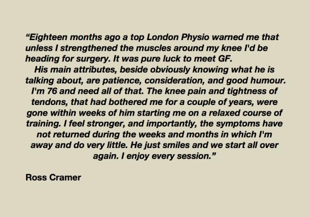 Ross Cramer testimonial